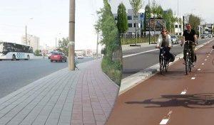 Pistele pentru biciclisti din Iasi – intre cosmar si realitate